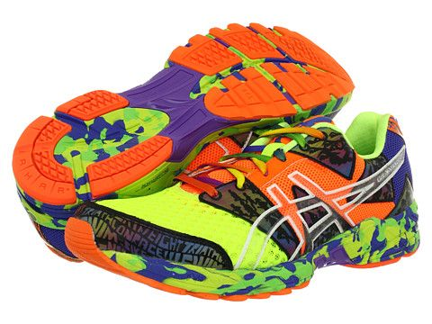 sale retailer 5c512 0ca8f ASICS GEL-Noosa Tri™ 8 Flash Yellow Flash Orange Multi - 6pm.com