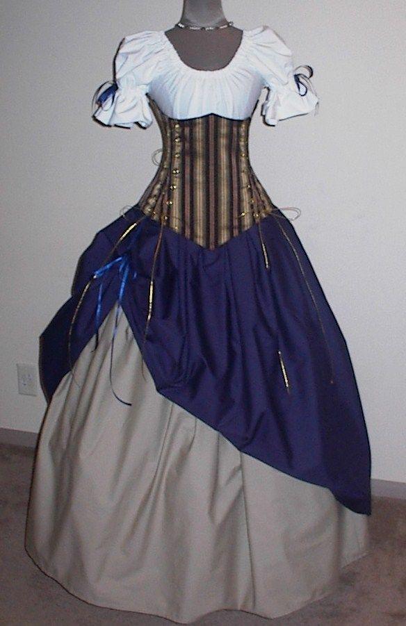 Vestidos antiguos para fiesta