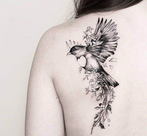 Photo of 50 bird tattoos for women – tattoo motifs at home #besttattoo – diy best tattoo images