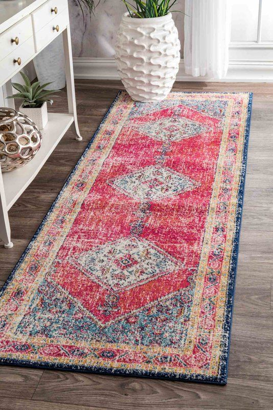 L Oasis Pink Area Rug In 2018 House Wish List Rugs Area Rugs