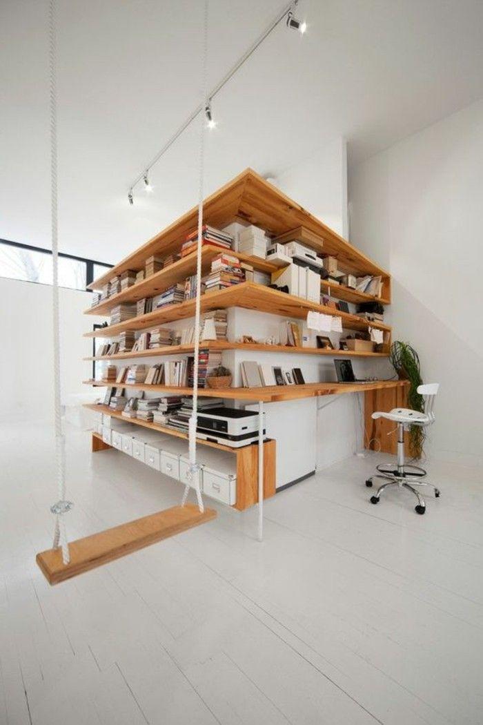 Les Etageres D Angle En 41 Photos Pleines Des Idees Etagere Angle Etagere Placard Mobilier De Salon
