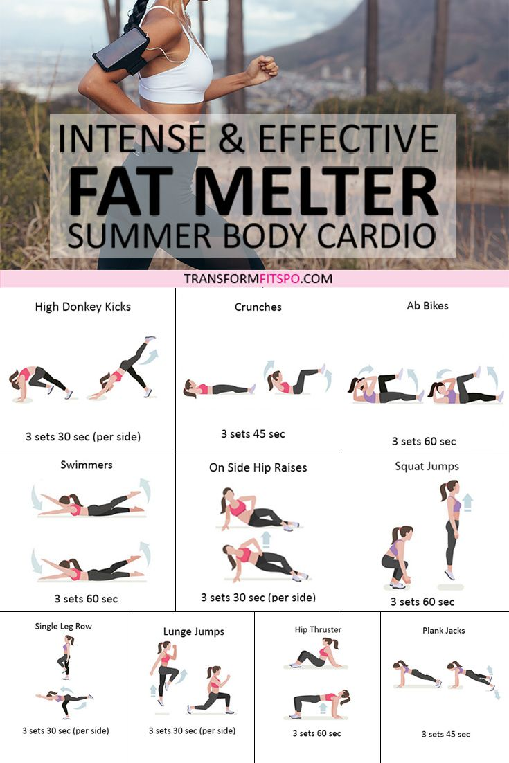 ⭐️ How to Melt Fat? Summer Cardio Workout for Women! Intense and Effective…