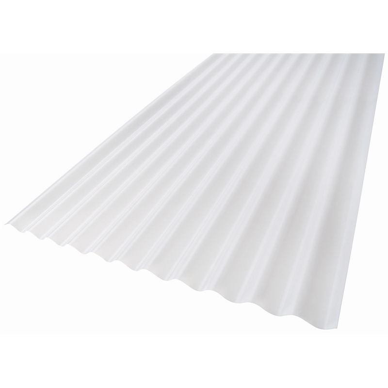 Suntuf 860 X 17mm X 2 4m Opal Standard Corrugated Polycarbonate Sheet Corrugated Roofing Roofing Sheets Polycarbonate