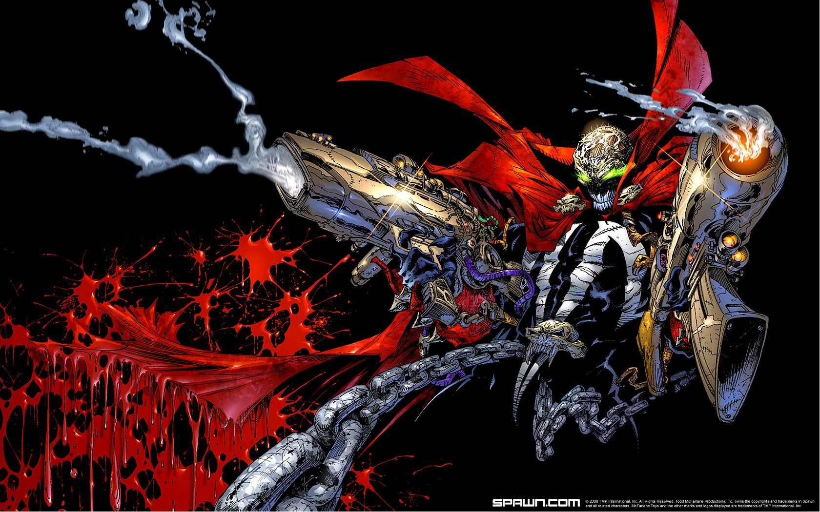 Superhero From Hell Spawn Comics