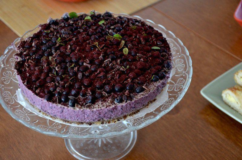 Kakkua tuoreista mustikoista   Get fit, stay healthy