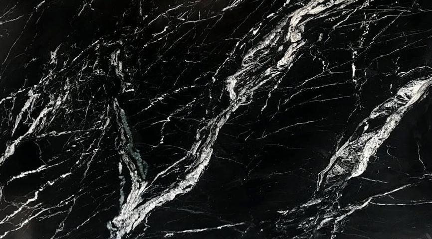 Google Image Result For Https Www Marbleindian Com Wp Content Uploads 2017 12 Marine Black Marble Jpg Black Marble Black Marble Tile Metamorphic Rocks
