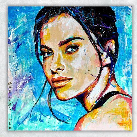 Каждая девушка мечтает о собственном портрете #marinda_art ...