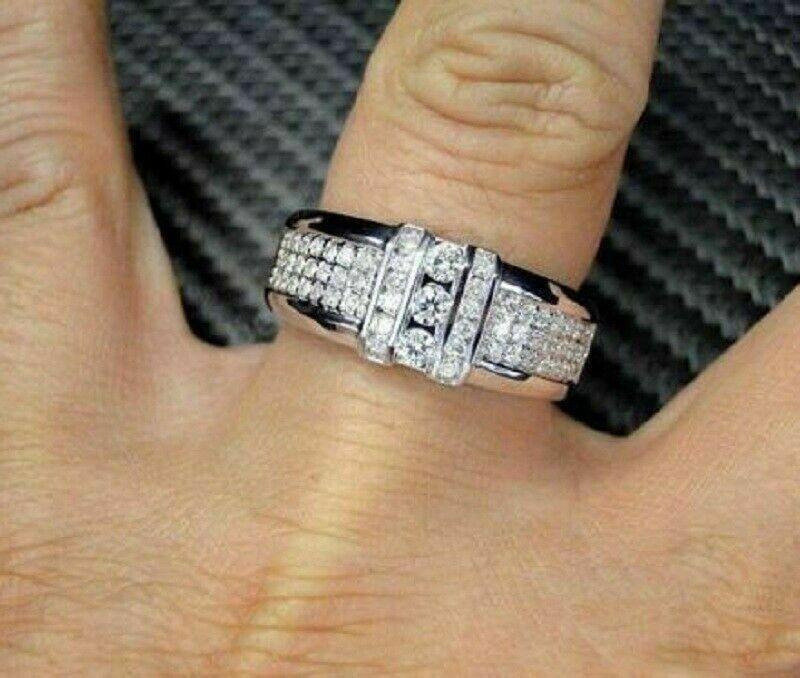 Pin By Vorra Fashion On Men S Ring In 2020 Rings For Men Men Diamond Ring Mens Wedding Rings Platinum