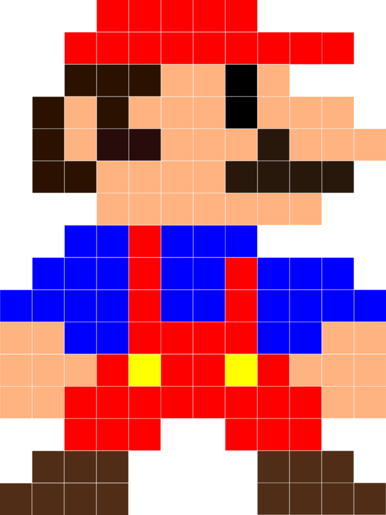 Pin By Erdem On Birthday Michael Mario Quilt 8 Bit Mario