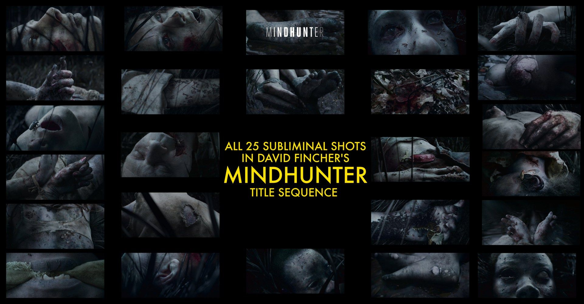 All Images In The Mindhunter Netflix Title Sequence - A fascinating breakdown of the visual effects in netflixs mindhunter