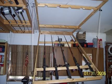 Post Your Ceiling Mounted Rod Holders The Hull Truth