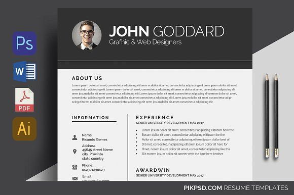 Simple Resume @creativework247 Resume Fonts Pinterest Simple - fonts for resume