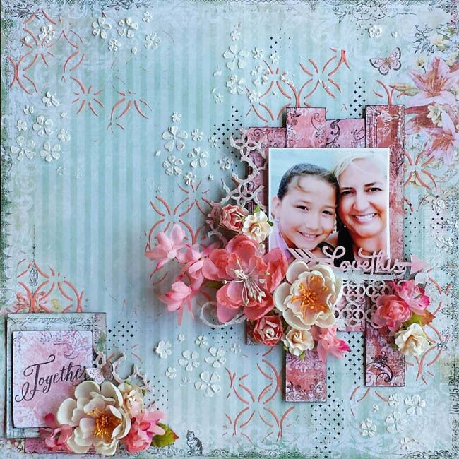 Together *Blue Fern Studios* - Blue Fern Studios featuring their new Frolic collection and chipboard