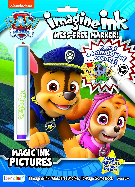 Magic Marker Coloring Book Elegant Nickelodeon Paw Patrol Imagine Ink Magic Ink Coloring Book In 2020 Cat Coloring Book Coloring Books Disney Princess Coloring Pages