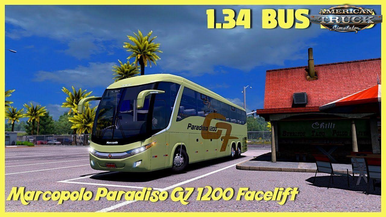 Mod bus Marcopolo Paradiso G7 1200 Facelift + Interior v2 1