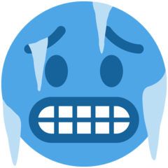 Cold Face On Twitter Twemoji 11 3 Cold Face Cold Emoji