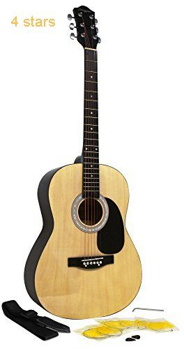 Martin Smith W 100 Acoustic Guitar Package With Strings Plecs Strap Natural Acoustic Guitar For Sale Acoustic Guitar Guitar