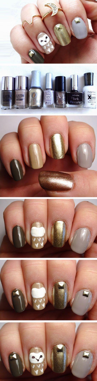 22 Easy Fall Nail Designs for Short Nails | Short nails ...