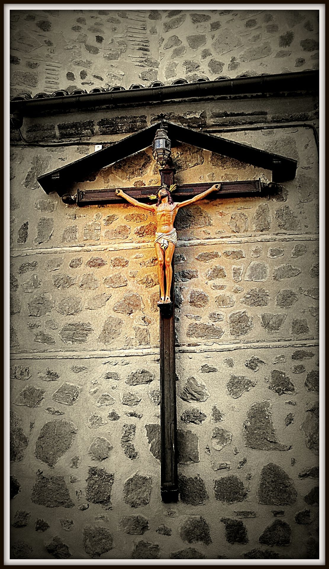 Cristo de Santo Tomé. Toledo