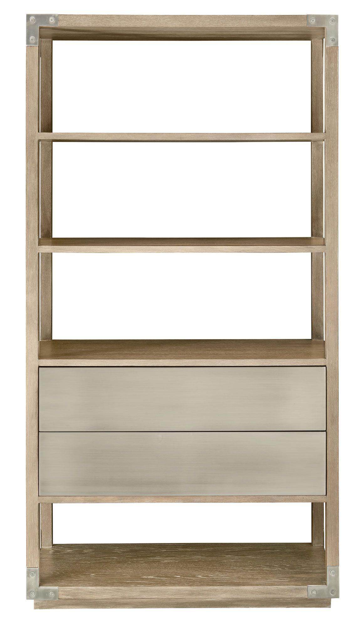 Spaulding Etagere Etagere Bookcase Bookcase Brown Wood