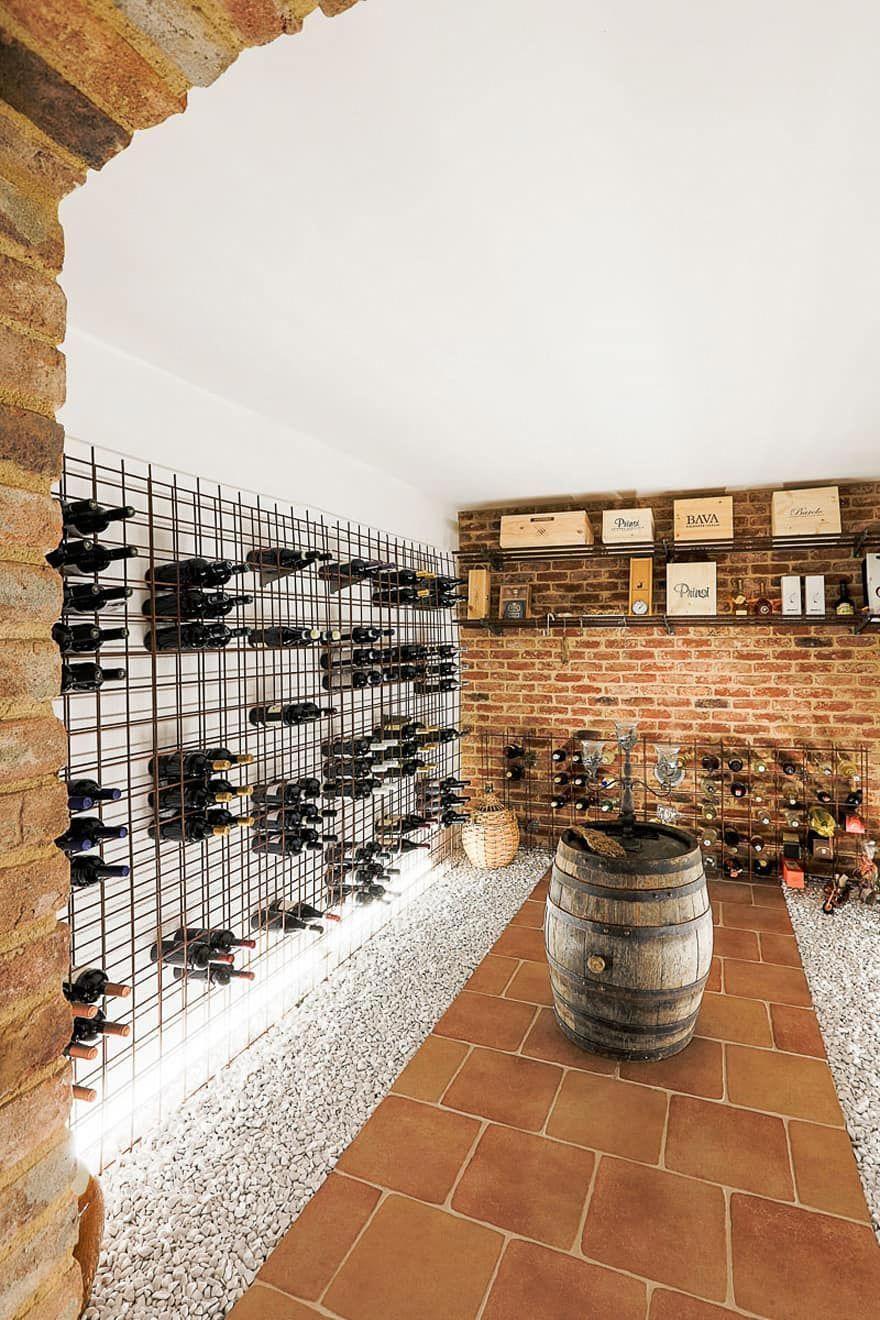 Geknickt Moderner Weinkeller Von Hunkeler Partner Architekten Ag Winecellar Wine Cellar Modern Wine Cellar Design Home Wine Cellars