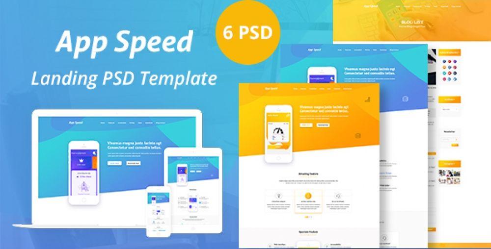 App Speed Psd Templated Sherry Mart Change Text Psd Templates Website Template