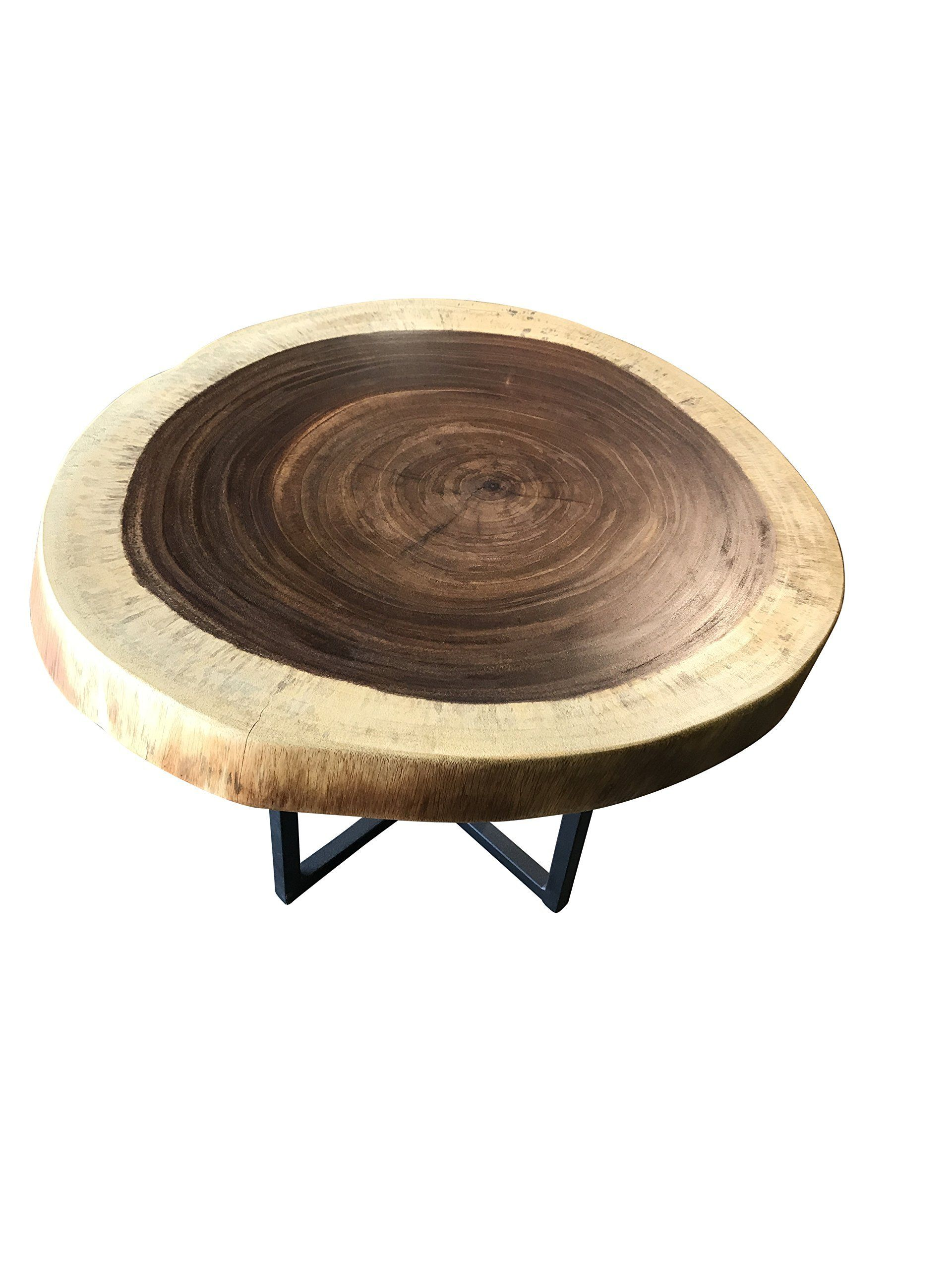 Live Edge Round Coffee Table Guanacaste More Details Could Be Located At The Picture Url This Is An Affiliate Link Coffee Table Table Round Coffee Table [ 2560 x 1920 Pixel ]