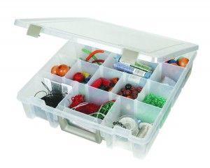 Art Bin Super Satchel Removable Divider Box - https://rainbowloomsale.com/art-bin-super-satchel-removable-divider-box/