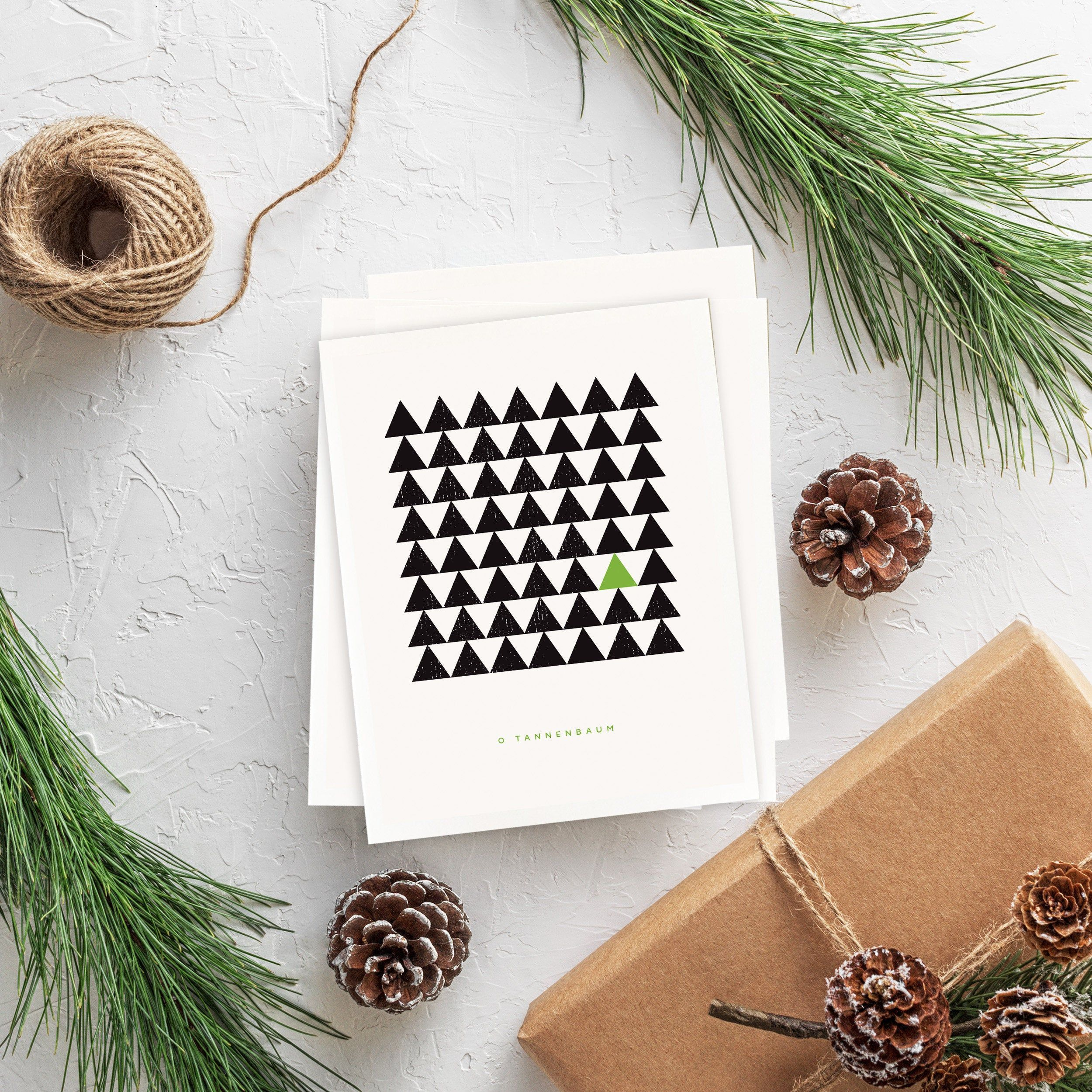 Modern Christmas Pack Of 4 Cards Scandinavian Geometric Etsy In 2021 Modern Christmas Cards Minimalist Christmas Card Fun Christmas Cards