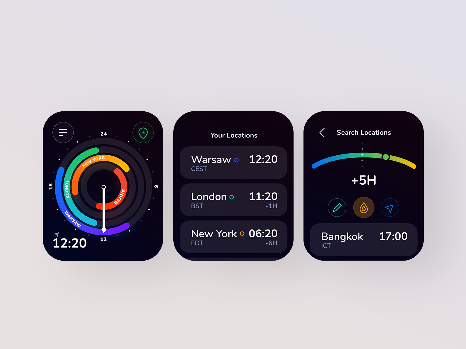 Pin on Watch & Wearables UI Design