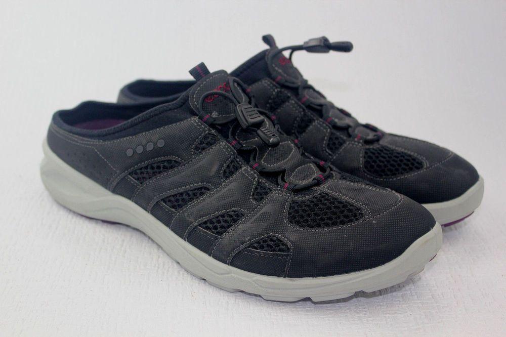 ECCO Sport Terracruise Slide Black Slip Ons Mules Sneakers Women's Shoes  Size 41 #ECCO #