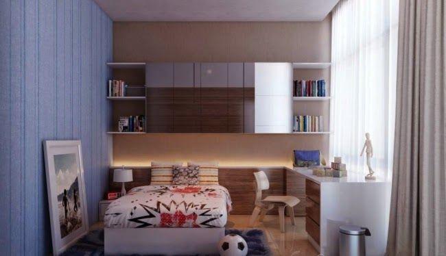 Decorar Dormitorio Juvenil Pequeno Cuartos Juveniles Pequenos En - Dormitorio-juvenil-pequeo