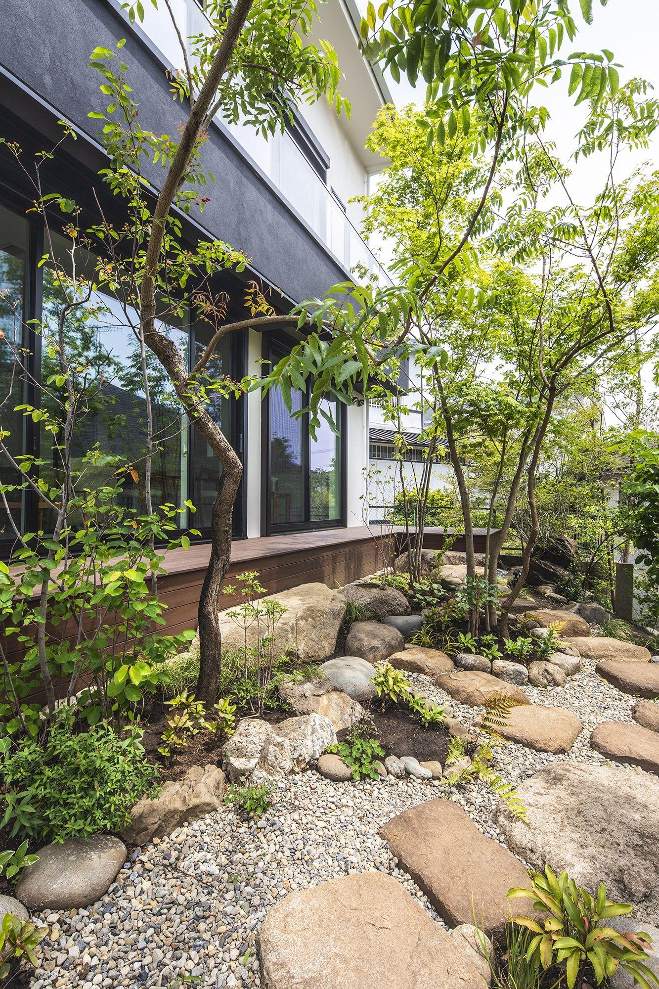 庭に囲まれた和モダンな家 間取り 東京都八王子市 注文住宅なら