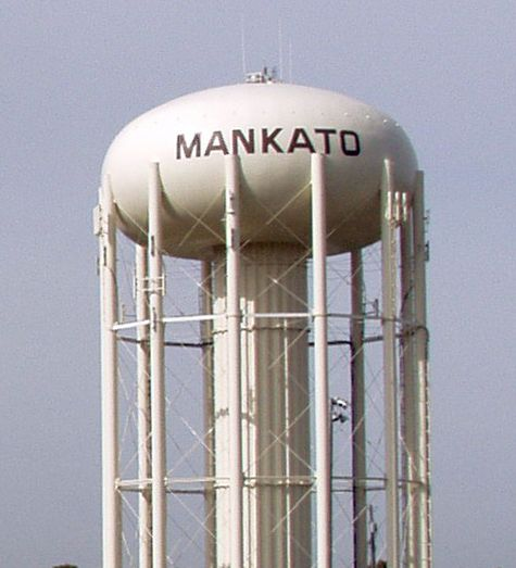 City News Online Edition Minnesota Water Water Tower Mankato