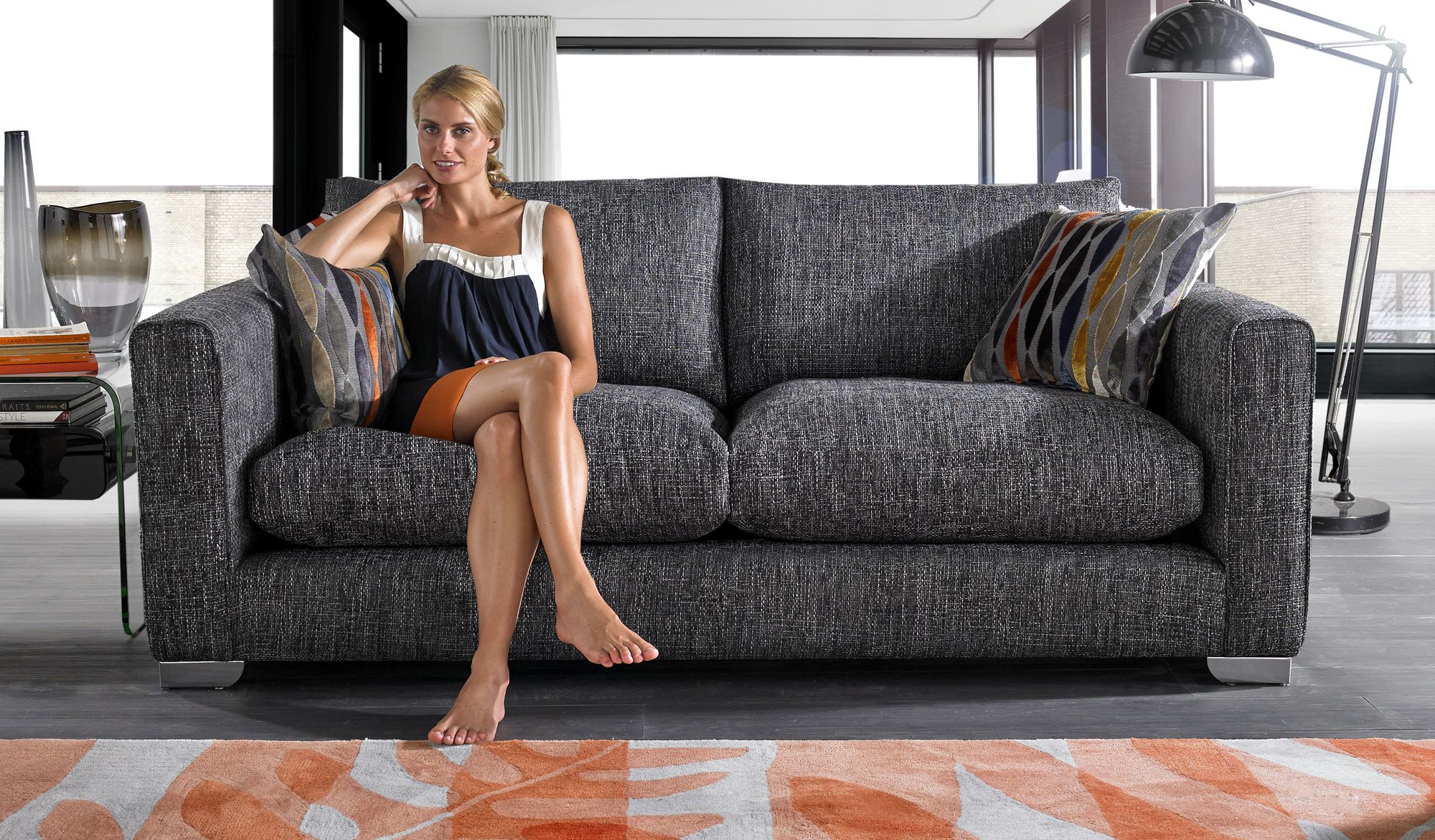 Check Out The Monarch Sofa From Sofaworks Sofa Fabric Sofa Sofas