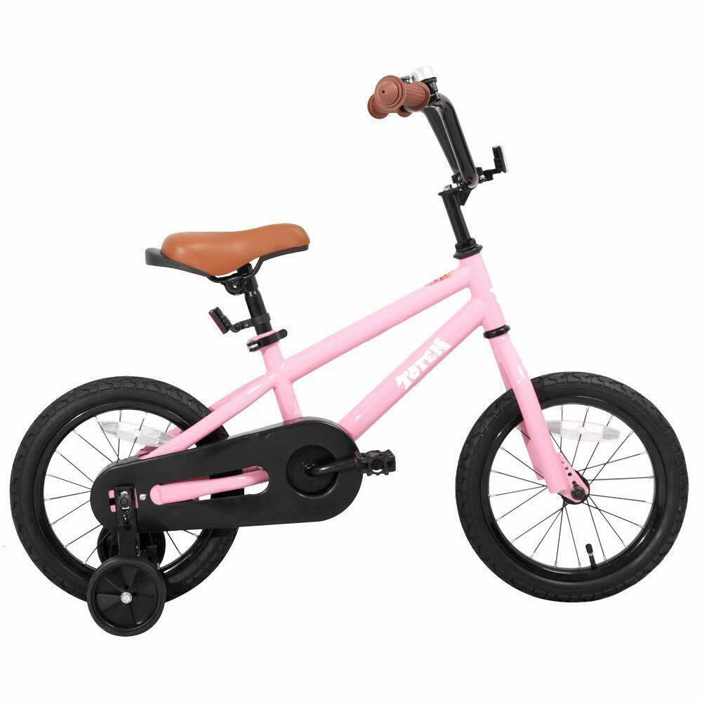 Joystar Kids Bike For Girls Boys Training Wheels For 12 14 16 Inch Bike Kick Joystar Kids Bicycle Kids Bike Bike With Training Wheels