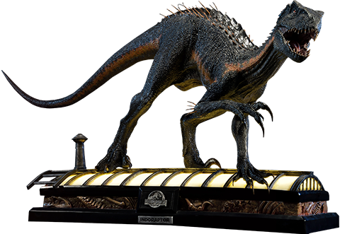 Indoraptor Statue by Prime 1 Sideshow Collectibles in