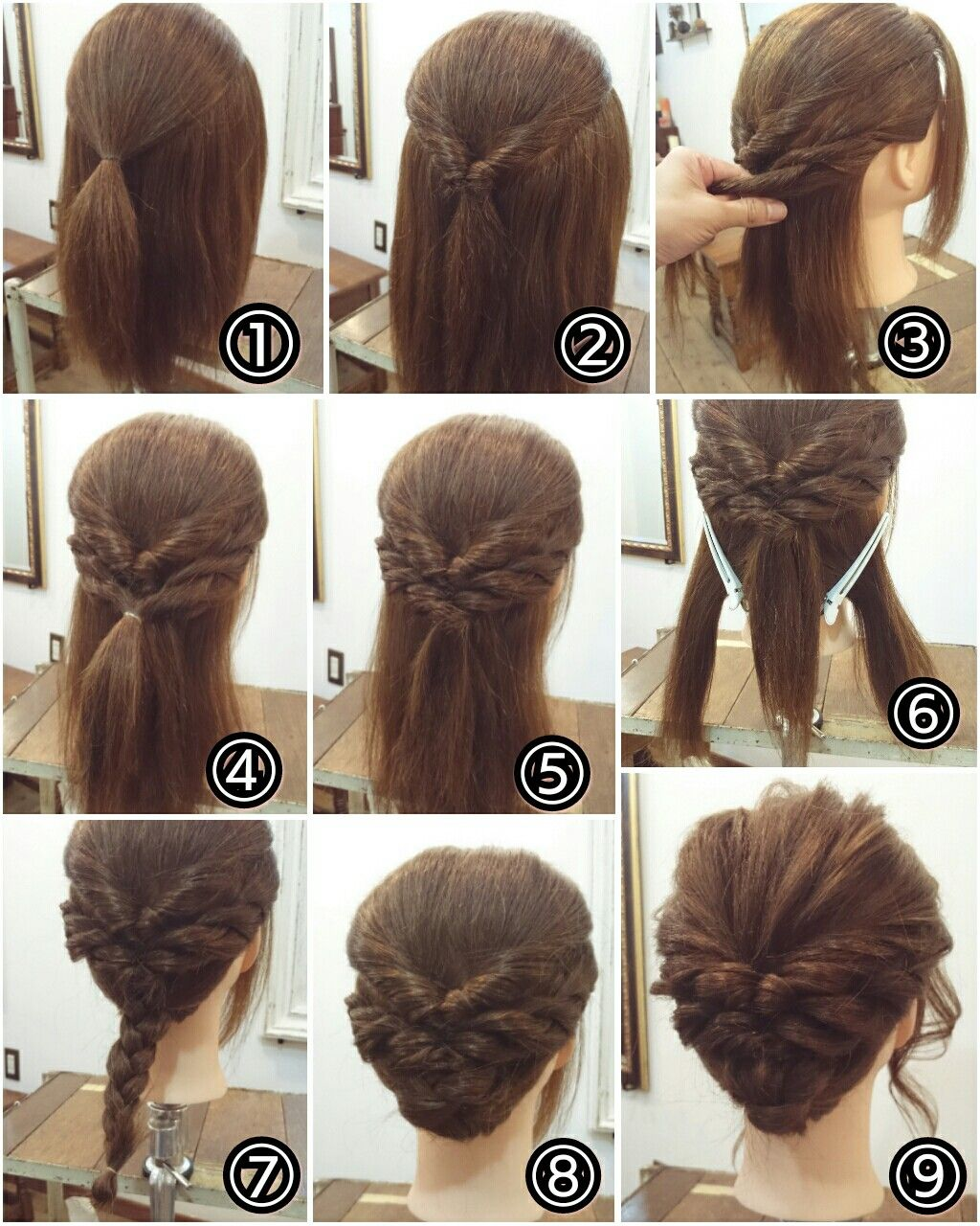 Pin by rocio maya on peinados pinterest hair style updos and