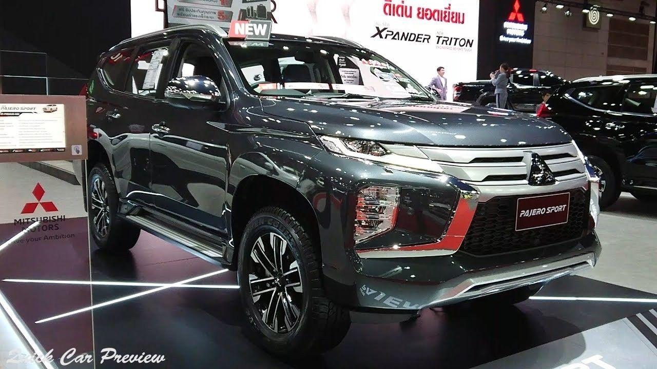 2020 Mitsubishi Pajero Sport Facelift Price and Release Date