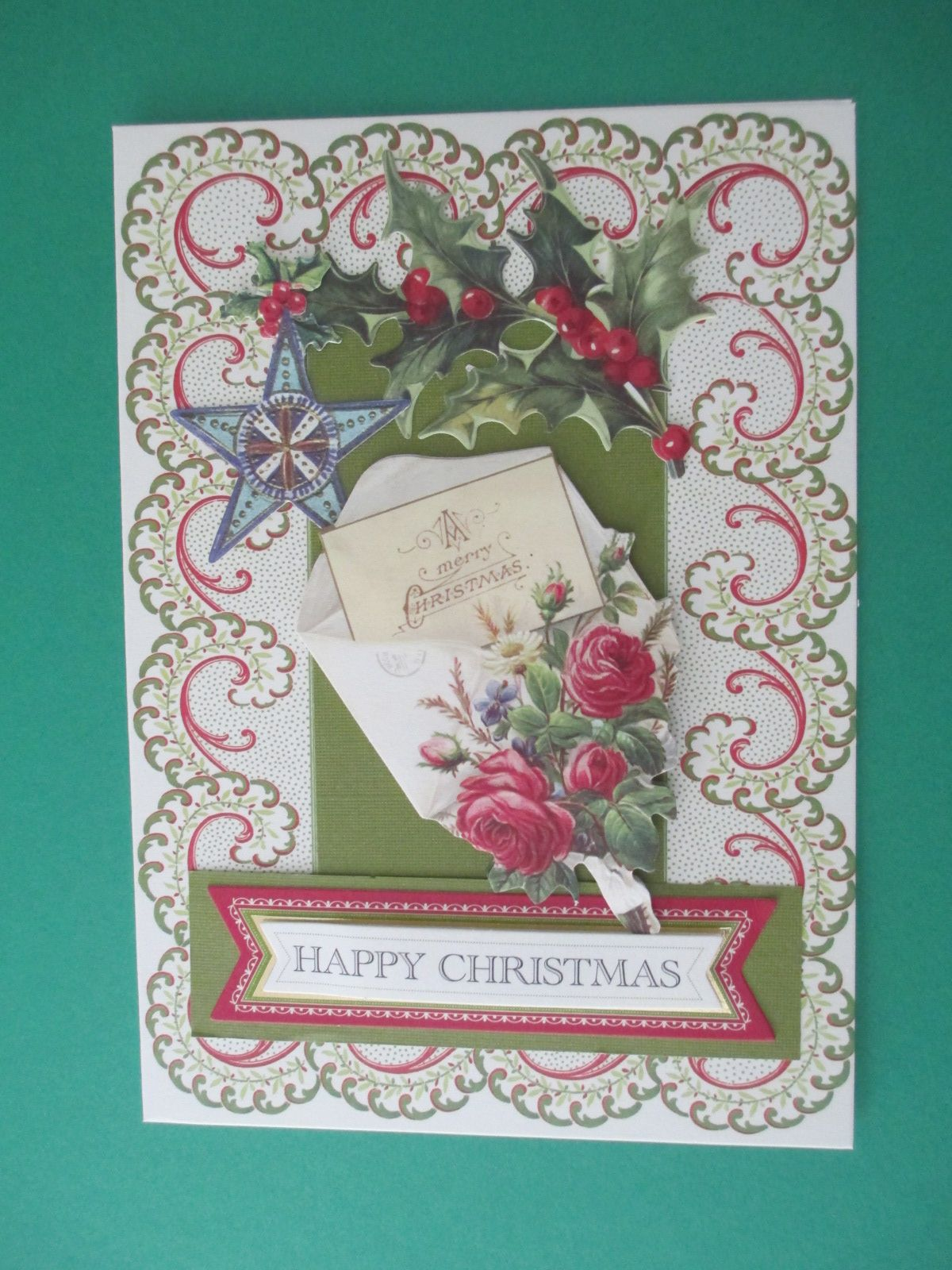 holiday trimmings card kit  christmas cards cards