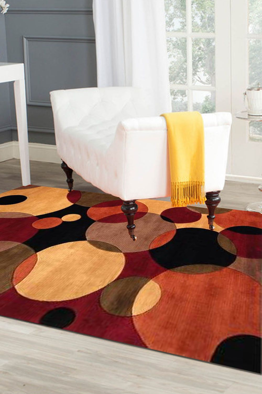 Custom Size Rug And Carpet With Eye Catchy Design Only At