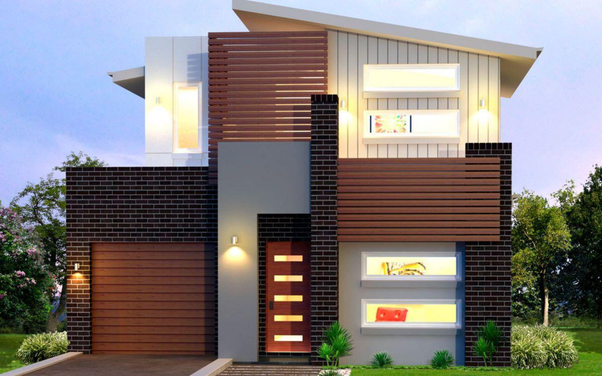 Planos de casas de dos pisos modernas mi casa ladrillo for Casas dos pisos modernas