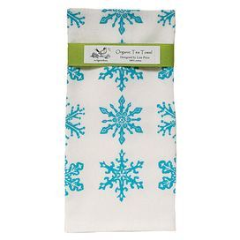 Bring A Touch Of Seasonal Style To Your Kitchen Decor With This Organic Cotton Tea Towel Showcasing A Charm Printed Tea Towel Block Printing Fabric Tea Towels
