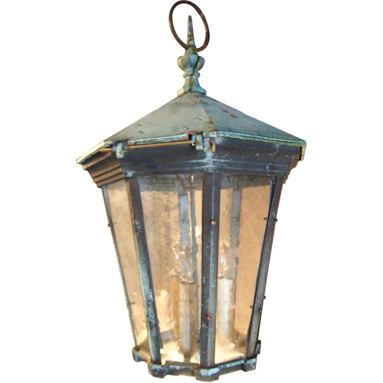 19th C English Copper Lantern Www Gardenvarietydesign 1stdibs Com Antique Lanterns Copper Lantern Lanterns