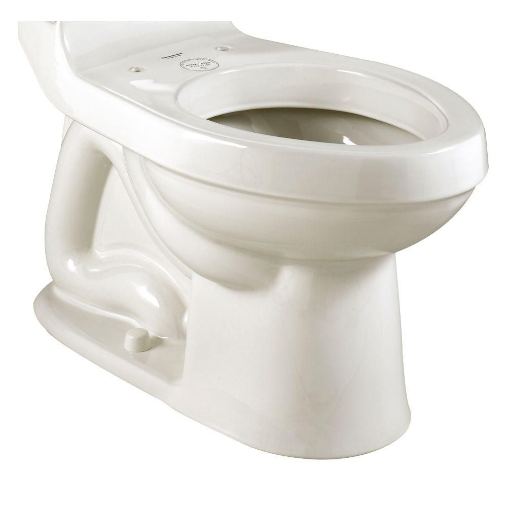 American Standard Champion Chair Height Elongated Toilet Bowl Only