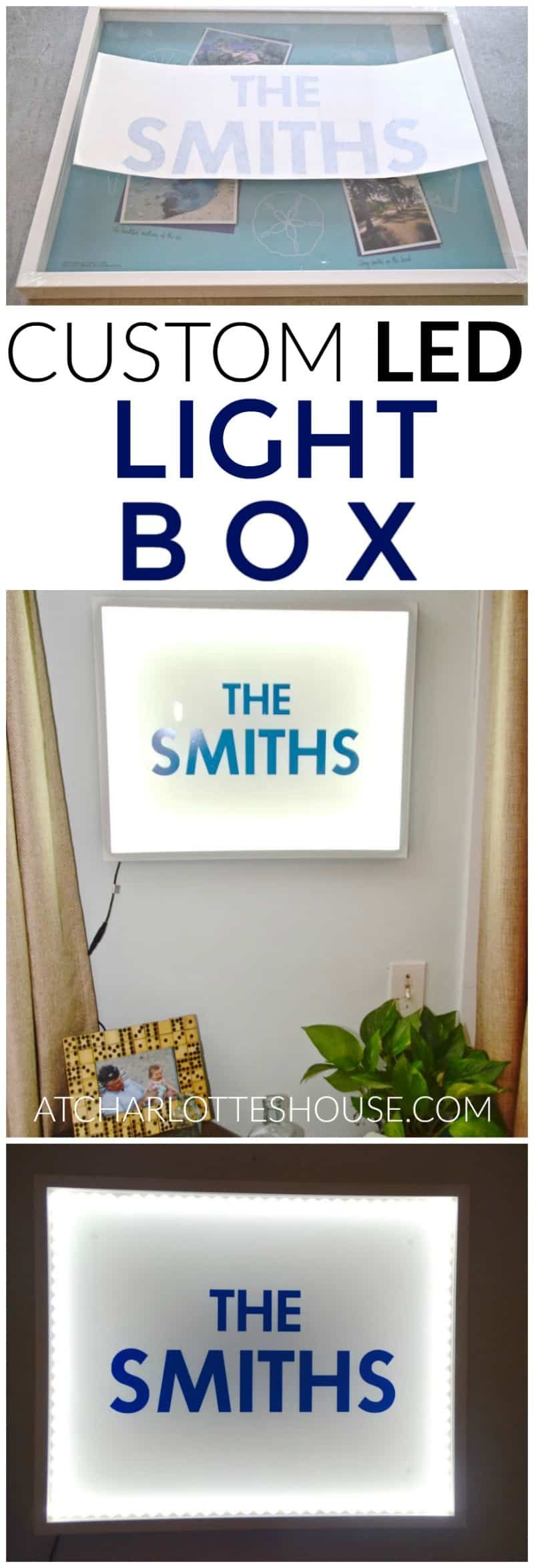 Diy marquee letter light box diy marquee letters diy