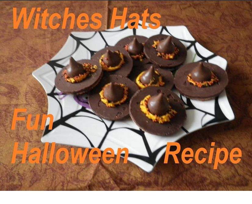 Easy Halloween Recipes Halloween Witches Hats Easy Halloween Food Fun Halloween Food Halloween Appetizers Easy