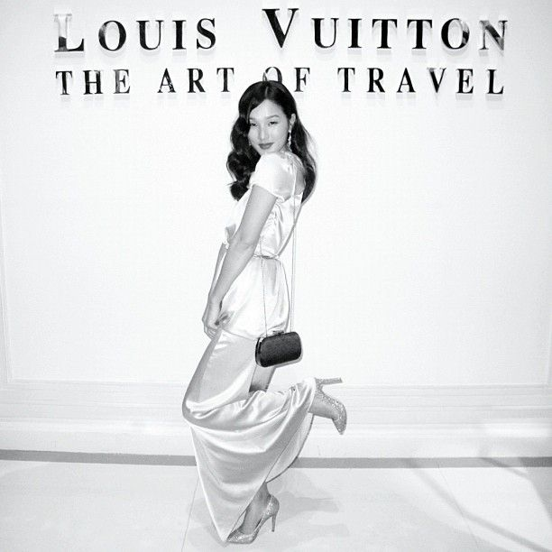 Channeling some 1940's inspiration for the LV AW12/13 show in Shanghai. #lvexpress - @garypeppergirl- #webstagram