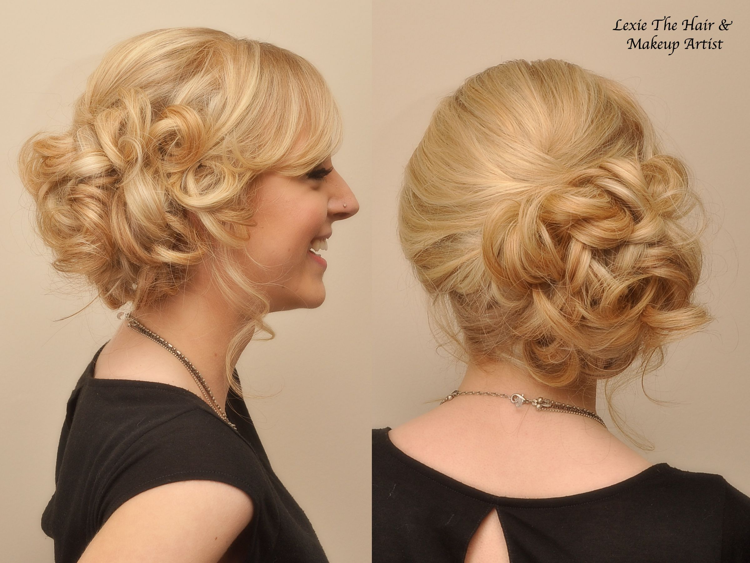 pin by eli leslie wedding on hair & makeup | side bun updo