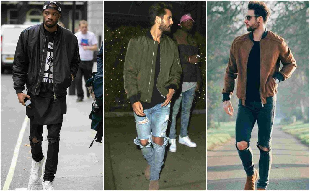 16 Ways to Style a Bomber Jacket With Ease | Men's jacket, Men ...